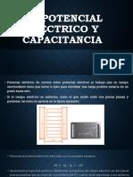 1.2 Potencial Eléctrico y Capacitancia