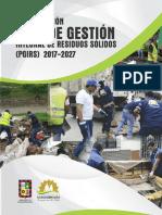 Actualización Plan de Gestión Integral de Residuos Sólidos Dosquebradas