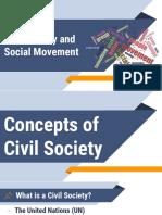 Civil Society and Social Movement
