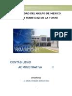 Apuntes de Contabilidad Administrativa III