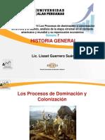 Semana 7-Los Procesos de Dominación o Colonización en El Perú y El Mundo