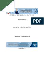 Revision de Objetivos Del Plan de Marketing
