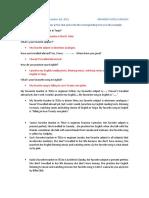 English 5 Sharing Information ARMANDO S.U.
