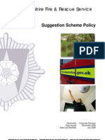 Suggestion Scheme Policy
