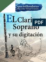 el clariente soprano y su digitacion