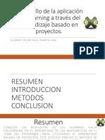 Desarrollo de la aplicación eXeLearning a través del.pptx