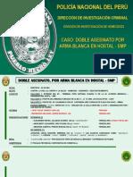 Informe final de la PNP sobre doble asesinato descuartizamiento - Caso SMP - Venecos