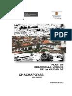 PLAN DE DESARROLLO URBANO CHACHAPOYAS-TOMO I