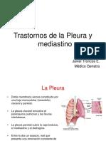 Pleura y Mediatino (DR TRONCOS