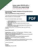 Diferencias Entre VENTAJAS y BENEFICIOS Con Copywriting
