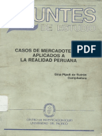 Casos de Mercadotecnia Aplicados a La Realidad Peruana