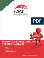 Tema 06 Integración de Funciones Con Trinomio Cuadrado