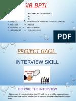 Intervew Skill