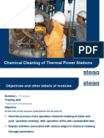 Chemical Cleaning of Thermal Power Stations