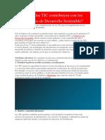 Cómo Las TIC Contribuyen Con Los Objetivos de Desarrollo Sostenible (1)