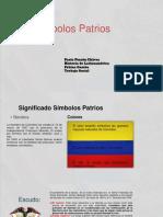 Simbolos Patrios Bandera,Escudo de Colombia