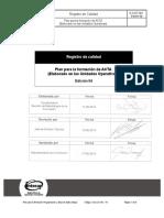 Plan de Formacion Programacion Base de Datos en Mysql
