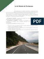 Diseño de Pavimento Flexible y Produccion