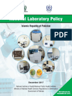 National Laboratory Policy
