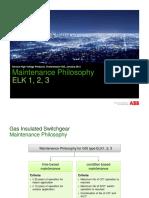 Maintenance Philosophy GIS