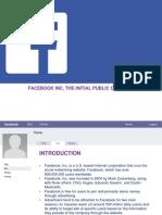 Facebook IPO case HBR