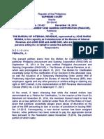 7.5 Pagcor vs Bir (Dec. 10, 2014)