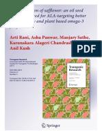Transgenic Research PDF