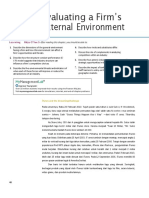 Chapter 2 Evaluating a Firm's External Environment