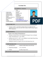 zameer -resume