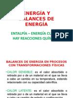 9. Energía y Balances de Energía Ultimo Corte Parcial