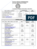 1pdf.net Up Dated List of Representatives of Member Universities