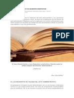 El Acto Administrativo y Sus Elementos Constitutivos
