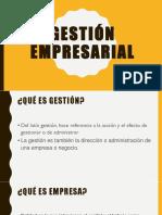 Gestión Empresarial