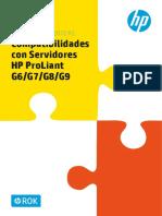 Windows Server 2012 R2. Compatibilidades Con Servidores HP ProLiant G6_G7_G8_G9