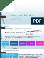 amenorrea