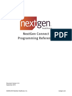 NextGen Connect Programming Reference | Hypertext Transfer