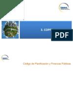 Análisis del código de planificación