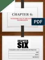 IMD213 Week 12 - Standards Used in Organizing Information