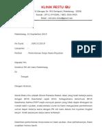 Surat Pengantar MOU Rujukan RS