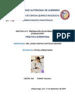 """Práctica Nº 2 """"Preparación de Material Para La Estirilización"""""""