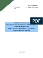 3 Limba Si Literatura Romana 2019-2020 Final