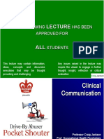 clinical communication pocket guide