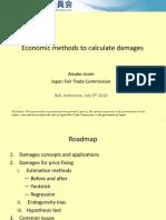 Session 8 Day 4 - JFTC - Economic Methods to Calculate the Antitrusr Damage