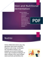 PPT Nutrition and Nutritional Supplementation-2