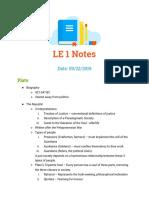 LE-1-notes