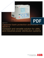 REV615 Capacitor bank protection and control