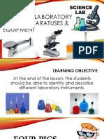 0 0 1 Common Laboratory Tools Apparatuses Equipment