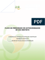 Manual Fluxo de Antimicrobiano