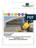 MyCrest Construction Stage Certification