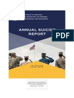 Annual Military Suicide Report